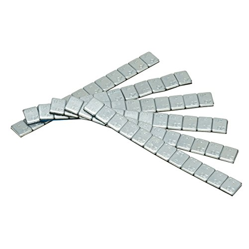 Pit Posse PP2839 Motorcycle ATV Car Truck Wheel Balancing Weights Adhesive Stick On 72pcs 1/4oz Silver