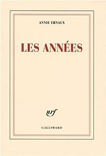 Les années, Ernaux, Annie