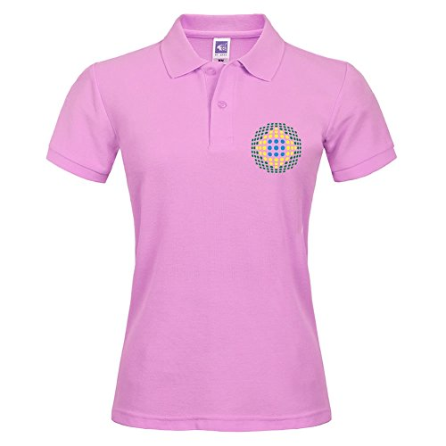 Pink Short Polo With Various Style Sport Women