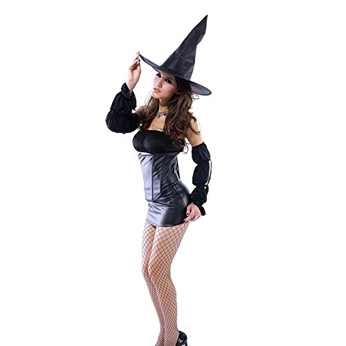 Reinhar Halloween Witch Ladies Fancy Dress Outfit Magic Spell Costume as (Kim K Costume Ideas)