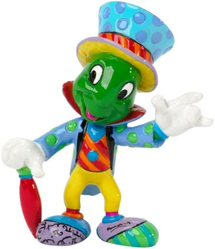 Disney by Britto Jiminy Cricket from Pinocchio Mini Stone Resin Figurine