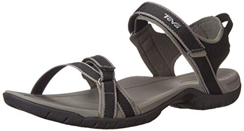 (Teva Women's Verra Sandal, Black/Grey, 9 M US)