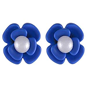 Flying Jewellery Stud Earrings, Push Closure - [CGE23B]