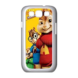 Alvin and the Chipmunks Samsung Galaxy S3 9300 Cell Phone Case White Iosd
