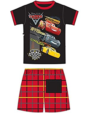 Disney Toddler Boys Short Set Three Speed McQueen Storm Cruz 2-pc Set