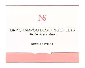 Nunzio Saviano Dry Shampoo Blotting Sheets