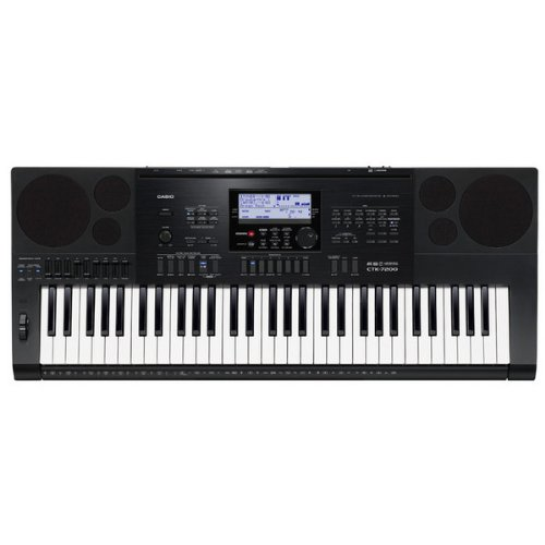 casio digital keyboard ctk 7200 bundle with free x stand headphones. Black Bedroom Furniture Sets. Home Design Ideas
