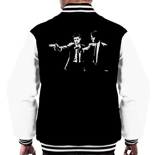 Pulp Fiction Supernatural Sam and Dean Winchester Men's Varsity Jacket