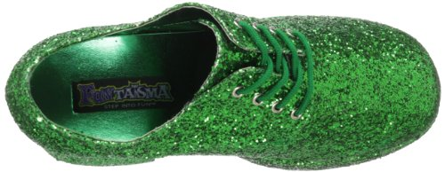 Green Brogue Uomo PleaserJazz02 Glitter b qtg5gBnf