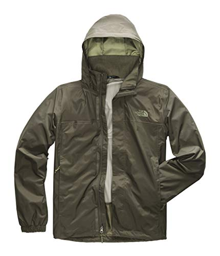 The North Face Men's Resolve Jacket, New Taupe Green, Medium (Best Patagonia Jacket For Snowboarding)