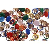 Box of 100 Drawing Pins Coloured - 979359 by OD