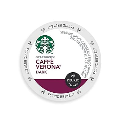 Starbucks Caffe Verona Dark K-Cup for Keurig Brewers