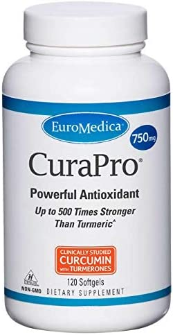 EuroMedica – CuraPro 750 mg 120 softgels Health and Beauty