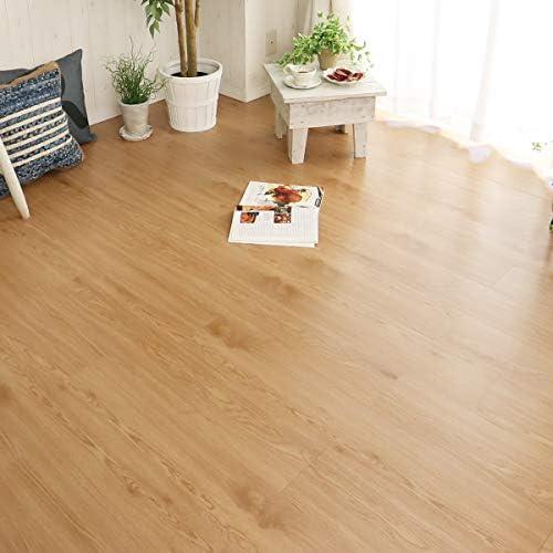 グラムスタイル フロアタイル (貼るだけ 粘着タイプ) 木目 床材 3畳用 36枚入 ヴィンテージベージュ
