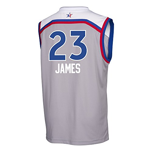 new styles df551 adc08 Lebron James Cleveland Cavaliers Adidas 2017 NBA All Star ...