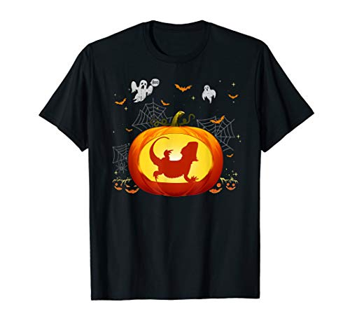 Bearded Dragon Outfits (Bearded Dragon Halloween Shirt Pumpkin Outfit Gift)