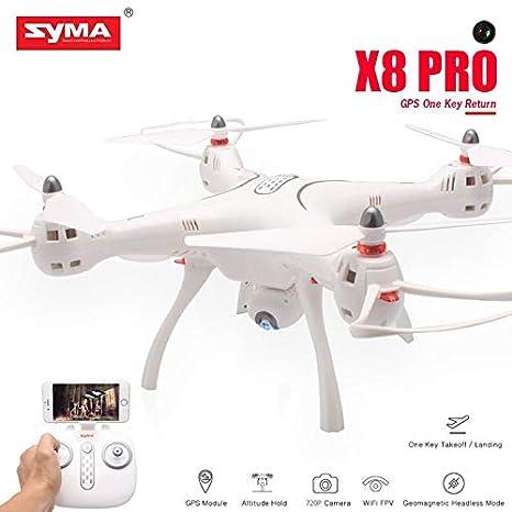 Syma X8 Pro - Dron teledirigido con cámara WiFi con Sistema GPS y ...