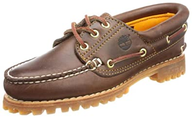 timberland women's boat shoes brown