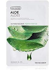 The Face Shop Real Nature Aloe Face Mask Sheet, 20 g