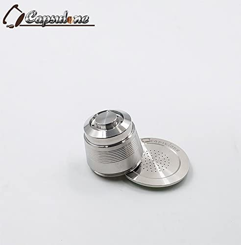 CAPSULONE stainless steel capsule refillable reusable capsule fit for nespresso coffee maker