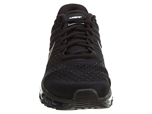 Nike Heren Air Max 2017 Hardloopschoen Black / Black-black 12,0