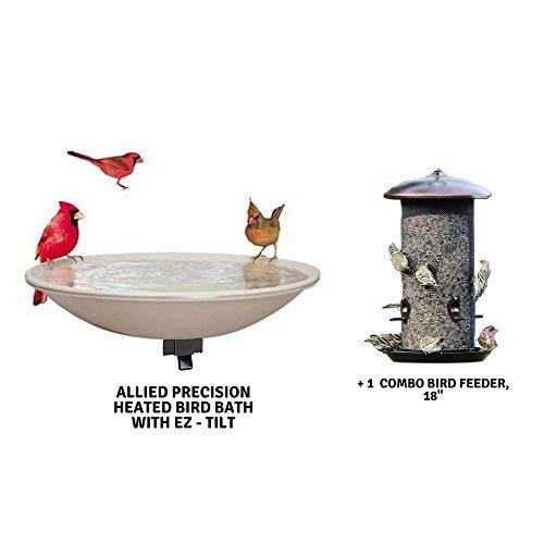 [해외]장착 된 온수 조류 욕조/Mounted Heated Bird Baths