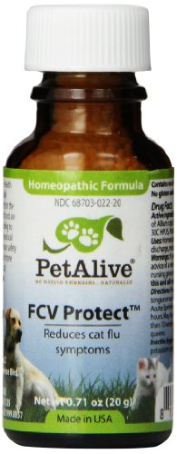 Petalive Fcv Protect To Temporarily Relieve Feline Flu Symptoms (20g), 0.1 Units