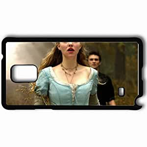Personalized Samsung Note 4 Cell phone Case/Cover Skin Amanda seyfried in red riding hood movie normal movies Black