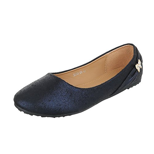Ital-Design - Cerrado Mujer , color azul, talla 39
