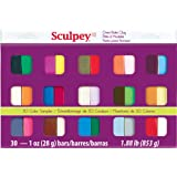 Polyform Sculpey III Polymer Clay Color Sampler, Multicolor