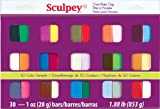Sculpey III Oven Bake Clay Sampler 1oz, 30/pkg