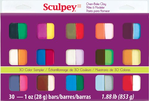 e Clay Sampler 1oz, 30/pkg (School Sampler)