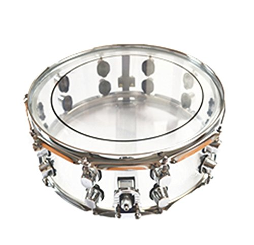 Snare Drum 14x5.5 Inch Transparent Shell Funion FUSD-101