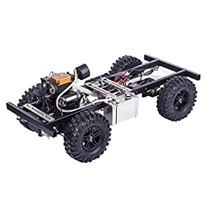 LuoKe Toyan Engine in RC Car 1:10 with Toyan FS-S100A/4CH Nitro Engine and 2.4G Remote Control