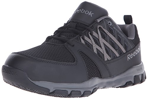 Reebok Work Men's Sublite RB4016 Work Shoe, Black, 12 M US