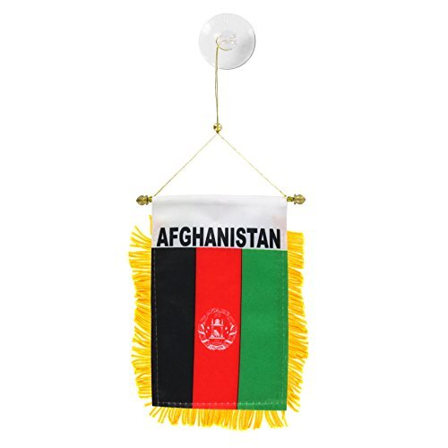 Afghanistan Mini Window Banner by US Flag Store (Image #1)