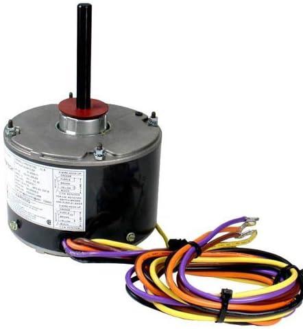 [DHAV_9290]  K55HXJKL-2918 - OEM Upgraded Emerson Condenser Fan Motor 1/5 HP 208-230  Volts 1075 RPM - - Amazon.com | 208 220 Volts Fan Motor Wiring Diagrams |  | Amazon.com