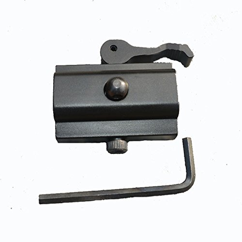 LVLING Quick Detach Cam Lock QD Bipod Sling Adapter for Picatinny Weaver Rails