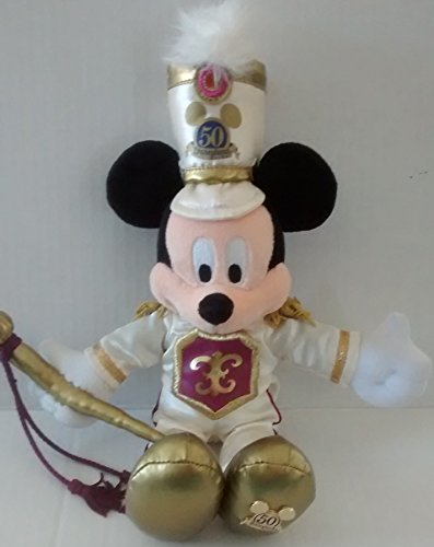 Mickey Mouse DISNEYLAND 50TH ANNIVERSARY Plush (Special Edition/2005)