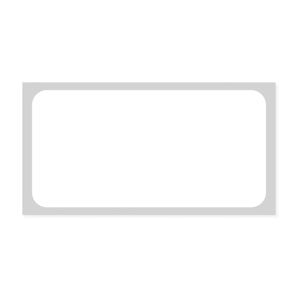 PDC Healthcare LDQLP220 Label, Direct Thermal Synthetic Permanent, 3/4'' Core, 2'' x 1'', White (Pack of 12600)