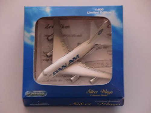 PAN AM 747 Silver Wings 1:600 Jet Air Plane Limited Edition by Schabak (Pan Am Aircraft)