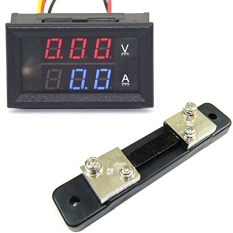 Schema Elettrico Voltmetro Per Auto : Drok voltmetro digitale munito di display a doppia