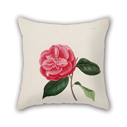 Artistdecor Flower Cushion Cases ,best For Home Office,outdoor,lover,chair,son,kids Boys 16 X 16 Inches / 40 By 40 Cm(double Sides)
