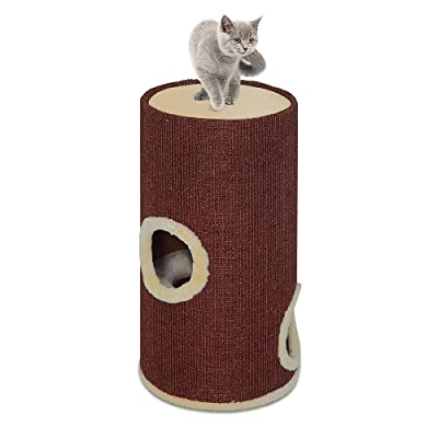 Cat Cave Cat Tree by Pet Squeak
