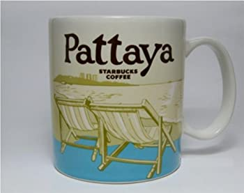 New Starbucks Coffee Cup City Collector Series Pattaya Thailand Mug Tea Mint