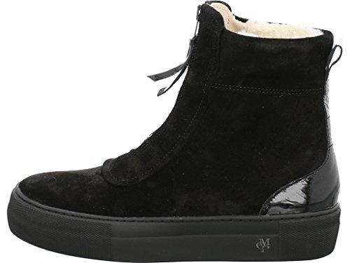 70814196001309 Womens Schwarz Chelsea Flat Bootie Marc O'Polo Boots IZ5wqHHBx