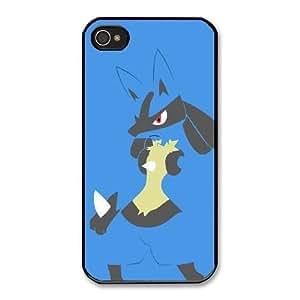 HD Beautiful image for iPhone 4 4s Cell Phone Case Black Super Smash Bros. Brawl Lucario MLA7217370