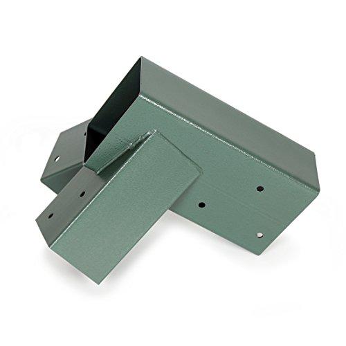 ECOTRIC Easy 1-2-3 Heavy Duty Steel A-Frame Swing Set Bracket Green ...