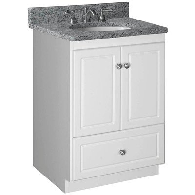 Amazon Com Simplicity 24 Bathroom Vanity Base Base Finish