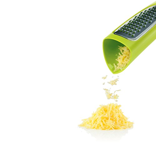 ZEAL Cheese and Vegetable Grater Tower with Storage and Serving Container - Ready to Serve - ()